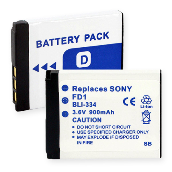 SONY NP-FD1 LI-ION 900mAh Digital Battery