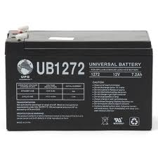 UB1272 12 Volt 7.2 AMP SLA/AGM Battery 2 Pack + FREE SHIPPING!