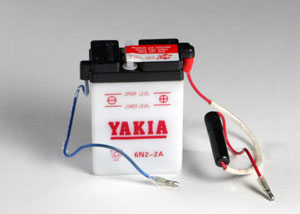 6 Volt 4 AMP Motorcycle And Power Sport Battery (6N4B-2A-6)