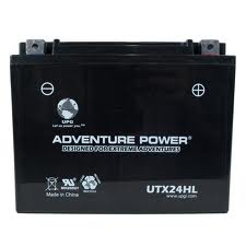 YTX24HL-BS 12 Volt 21 Amp Hrs Dry Charge AGM Power Sport Battery