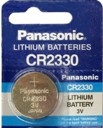 Panasonic CR2330 3V Lithium Coin Battery