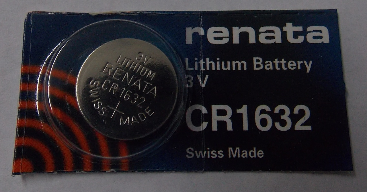 Renata CR1632 3V Lithium Coin Battery