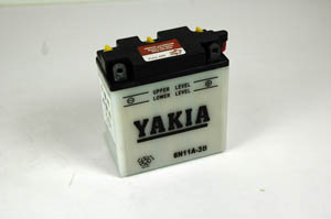 6 Volt 11 AMP Motorcycle And Power Sport Battery (6N11A-3B)