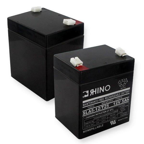 Sealed Lead Acid Battery 12V 5Ah W/wide Terminals*