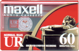 Maxell UR 60 Minute Cassette Audio Tape - 60 Pack + FREE SHIPPING!