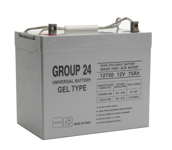 Deep Cycle GEL 73.6AHAH 12 Volt Battery
