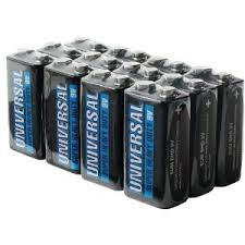 BBW 9V Alkaline Battery - 288 Pack