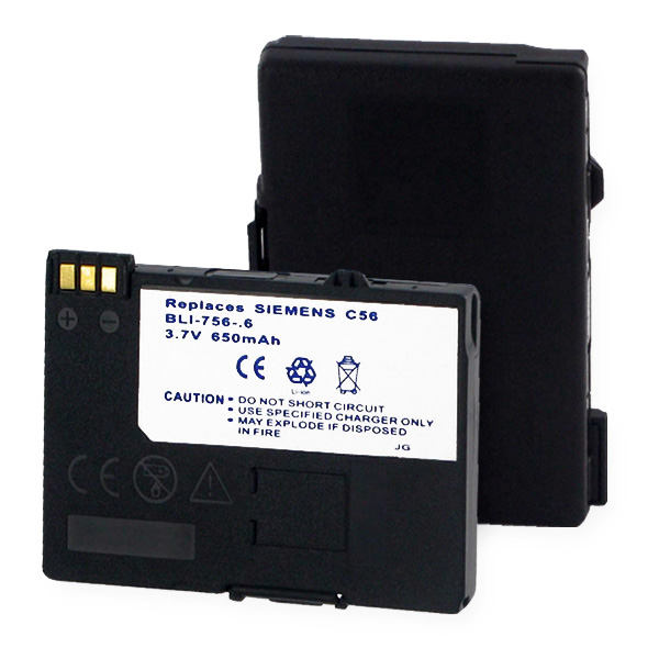SIEMENS 56 SERIES L-ION 650mAh Cellular Battery