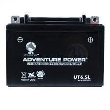 12N6.5-3B 12 Volt 6.5 Amp Hrs Sealed AGM Power Sport Battery