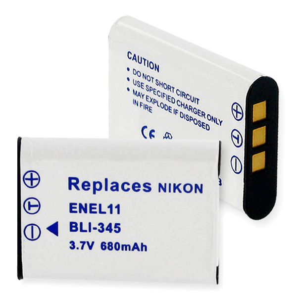 NIKON EN-EL11 LI-ION 680mAh Battery + FREE SHIPPING