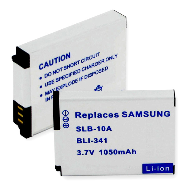 SAMSUNG SLB-10A LI-ION 1050mAh Video Battery + FREE SHIPPING