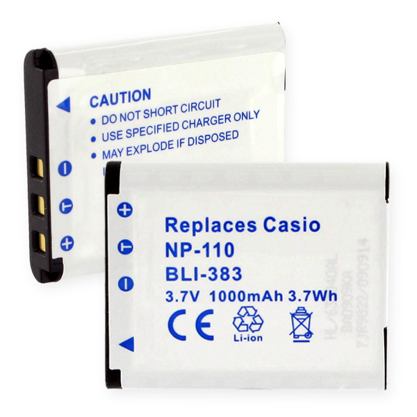 CASIO NP-110 LI-ION 1000MAH Digital Battery