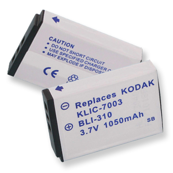 KODAK KLIC-7003 LI-ION 1000mAh VIDEO BATTERY + FREE SHIPPING
