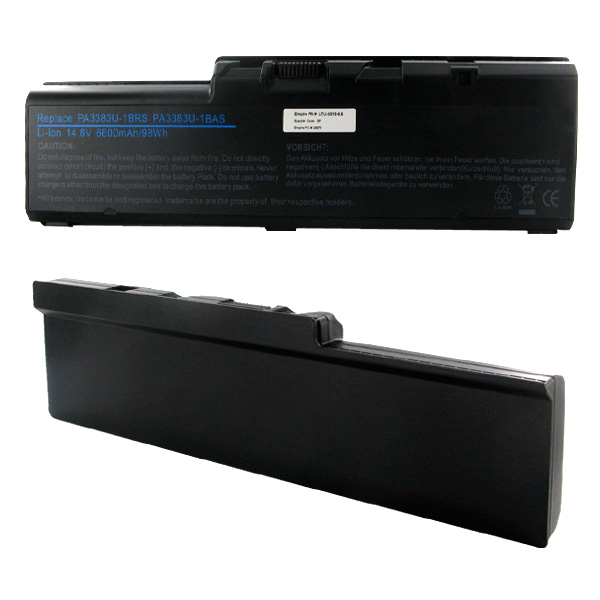 TOSHIBA 14.8V 6600mAh Li-ION Laptop Battery
