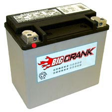 Big Crank  ETX16 19AH 12 Volt  Battery