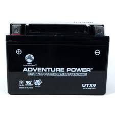 YTX9-BS 12 Volt 8 Amp Hrs Dry Charge AGM Power Sport Battery
