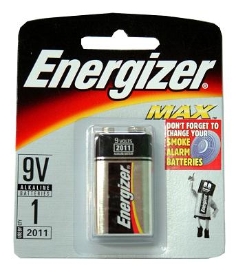 Energizer MAX 9V Batteries - 24 Ct. + FREE SHIPPING!