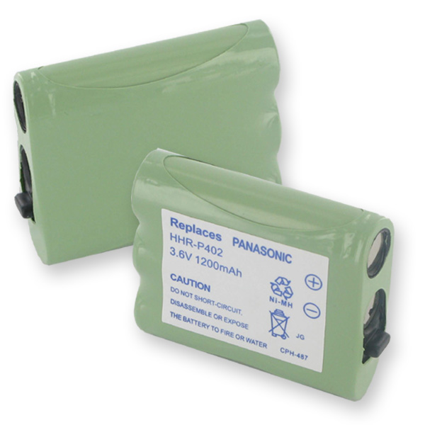 PANASONIC HHR-P402 NMH 1200mAh CORDLESS BATTERY + FREE SHIPPING