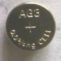 AG3 / LR41 Alkaline Button Watch Battery 1.5V
