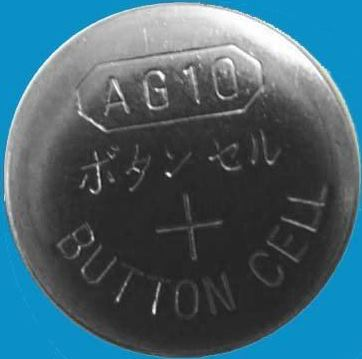 AG10 / LR1130 Alkaline Button Watch Battery 1.5V
