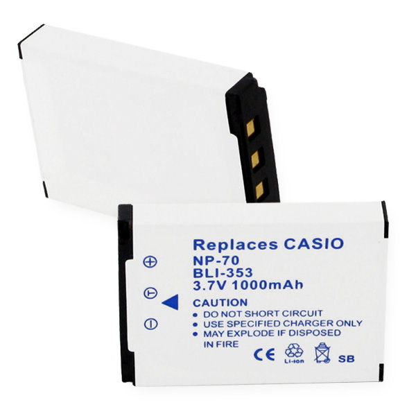 CASIO NP-70 LI-ION 1000mAh Video Battery