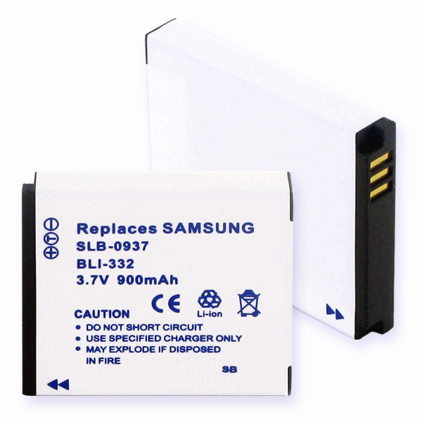 SAMSUNG 0937 LI-ION 900mAh Video Battery