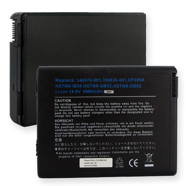 HP 14.8V 6600mAh Li-ION Laptop Battery
