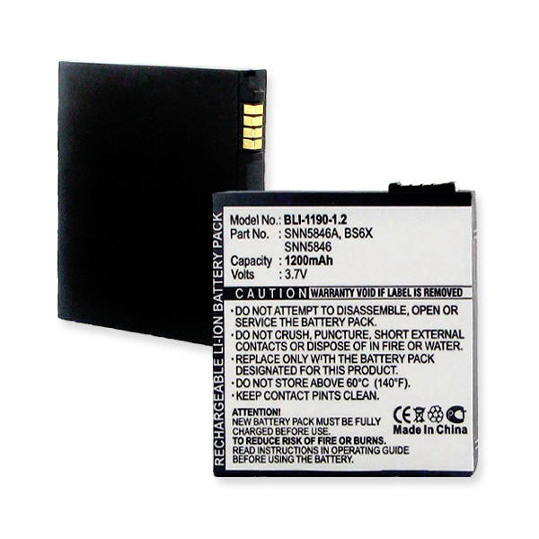MOTOROLA MB300 And BACKFLIP LI-ION 1350mAh Cellular Battery