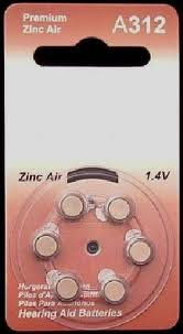 A312 Zinc Air Hearing Aid Batteries - 20 Wheels - 6 Batteries  Per Wheel + FREE SHIPPING!
