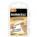 Duracell Activair Hearing Aid Batteries Size 13 - 10 Wheels Of 6 + FREE SHIPPING