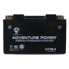 YT7B-BS 12 Volt 6 Amp Hrs Dry Charge AGM Power Sport Battery