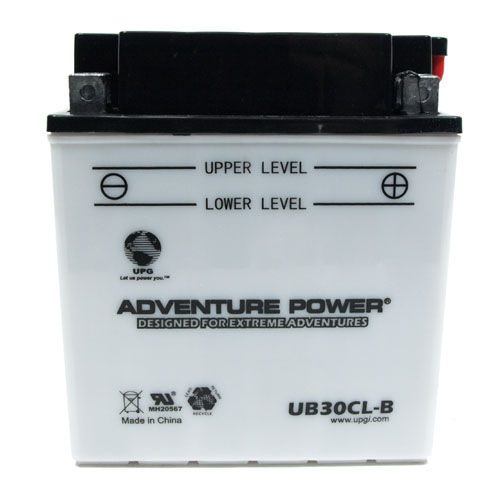 YB30CL-B 12 Volt 30 Amp Hrs Conventional Power Sport Battery