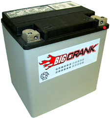 Big Crank  ETX30L 26AH 12 Volt  Battery