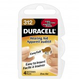 Duracell Activair Hearing Aid Batteries Size 312 - 10 Wheels Of 6 + FREE SHIPPING!