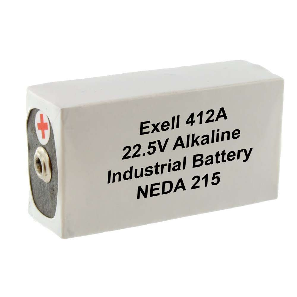 Eveready 412 22.5V/140mAh Carbon-Zinc Battery