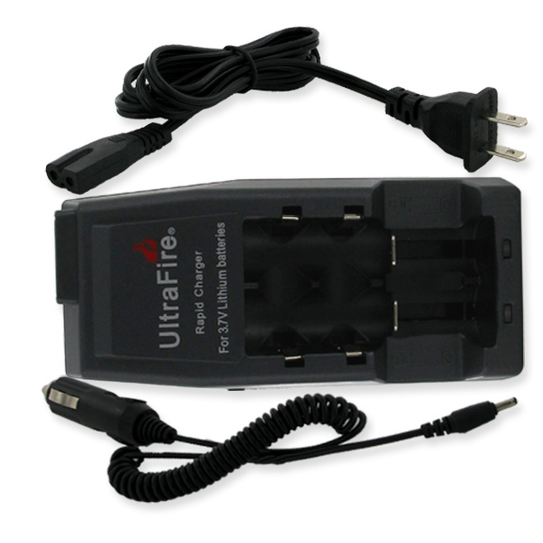 ULTRAFIRE DUAL PORT 18650 CHARGER AC/DC  + FREE SHIPPING