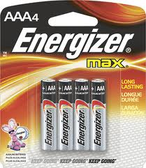 Energizer MAX Batteries AAA 24 Ct Super Value Pack - FIXED SHIPPING $4.98