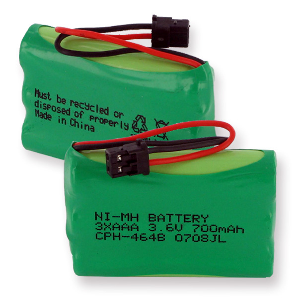 1X3AAA NiMH 700mAh/B CONNECTOR CORDLESS BATTERY + FREE SHIPPING