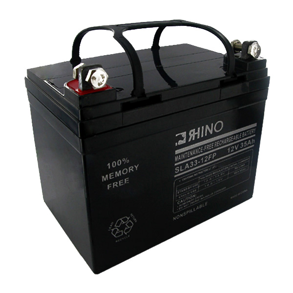 Sealed Lead Acid Battery 12 Volt 35 Amp Hour(Flag Connectors) + FREE SHIPPING