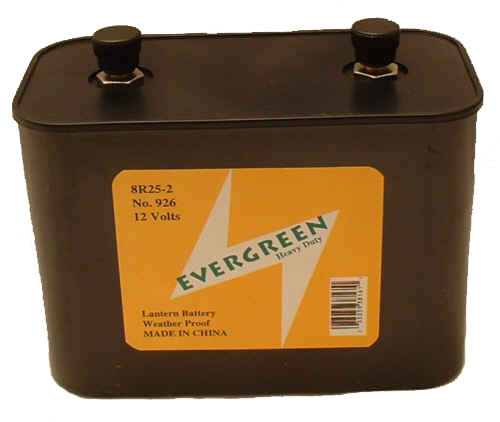BBW 926 / 732  Screw Top 12 Volt Heavy Duty Lantern Battery