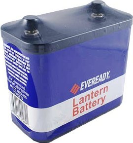 Eveready 732 Heavy Duty 12 Volt Lantern Screw Top Battery