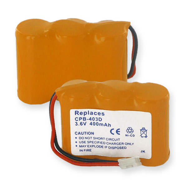 3X2/3AA NCAD 400mAh/D CONNECTOR CORDLESS PHONE BATTERY + FREE SHIPPING
