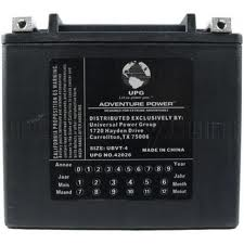 65989-90B / YTX20L-BS 12 Volt 19 Amp Hrs Sealed AGM / V-Twin Heavy Duty Power Sport Battery