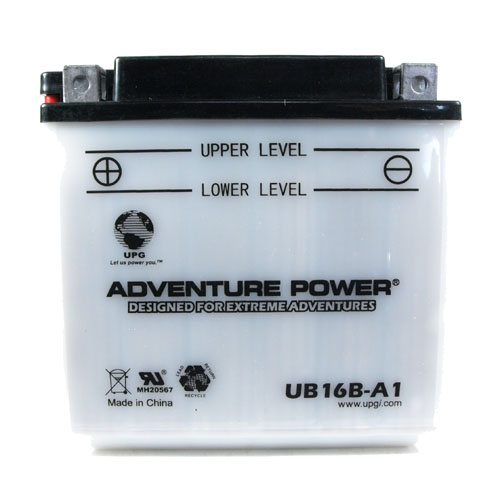 YB16B-A1 12 Volt 16 Amp Hrs Conventional Power Sport Battery