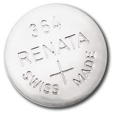 Renata 364/363 - SR621 Silver Oxide Button Battery 1.55V