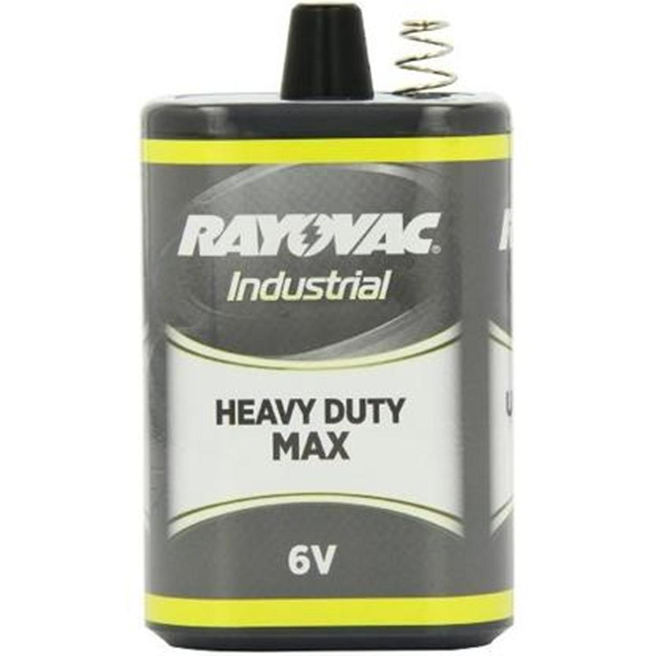 Rayovac 6V-HDM Industrial Heavy Duty Max 6V Spring Top Lantern Battery + FREE SHIPPING