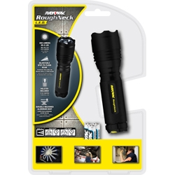 Rayovac 220 Lumen Tactical LED Flashlight With Alkaline Batteries and Holster + FREE SHIPPING!