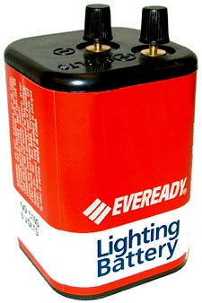 Eveready 510S Heavy Duty 6Volt Lantern Screw Top Battery