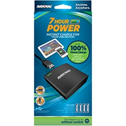 Rayovac 7 Hour Portable USB Power + FREE SHIPPING!