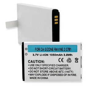 CASIO GZONE RAVINE 2 C781 3.7V 1050mAh LI-ION BATTERY + FREE SHIPPING